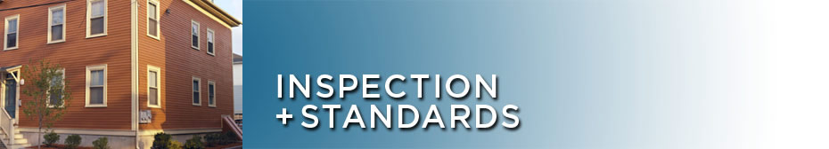 ~Inspection + Standards | Code Enforcement