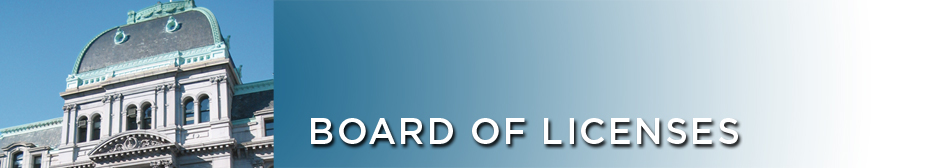 ~Board of License | About Us