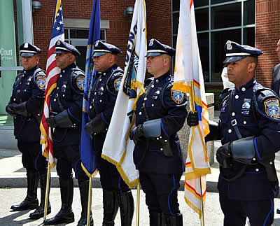 Providence Police Honor Guards